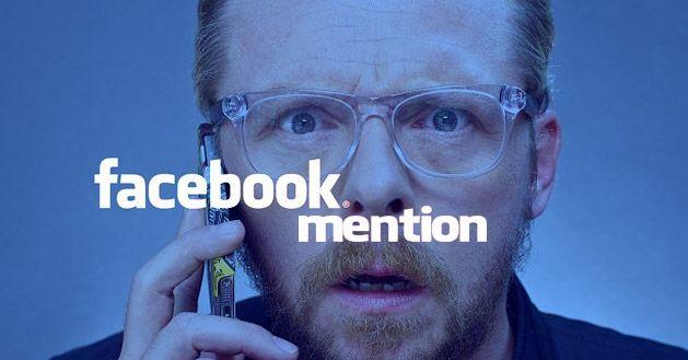 mentions, aplicacion de facebook